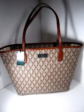LAUREN By RALPH LAUREN RLL Women's Helston Classic Brown Tan Tote NWT $168