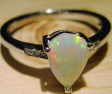 Ringe mit Opal Edelsteinen Sets aus Feinsilber für Damen