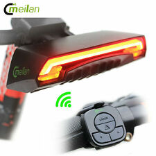 Led Bike Bycicle Light Wireless Rear Light Turn Signal with Laser USB Chargeable