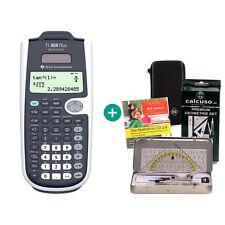 TI 30 X Plus MultiView Taschenrechner + Schutztasche GeometrieSet Lern-CD