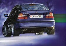 BMW ALPINA B3 3.3 ALLRAD 4x4 Prospekt Sales Brochure 2003 /35
