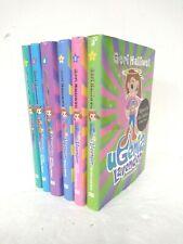uGenia Lavender Hardback Book Set 1-6 2008 Geri Halliwell 1 SIGNED - HAR