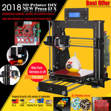 DE Upgradest A8 3d Drucker High Precision Reprap Prusa i3 3D Printer DIY KIT DHL
