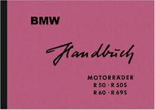 BMW R 50 S 60 69 S Manuale di istruzioni manuale di istruzioni manuale r50s r69s 50s
