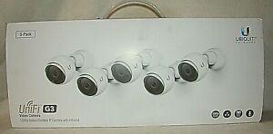 NEW Ubiquiti Networks [5-Pack] UniFi Video G3  Camera (UVC-G3) HD Infrared