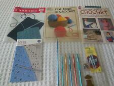Crochet Booklets and Boye Hooks & Needles and Other Supplies