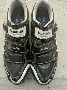 SHIMANO CYCLING SHOES MD86 SPD with Pedal Clips
