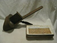 rough condition antique Stereoscope Viewer  w/ 28 cards stereoview view lot