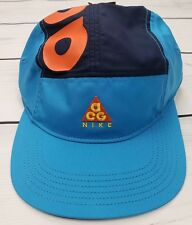 Nike ACG AW84 Adjustable Hat Cobalt Habanero Red Orange AO2104 439 Adult  Unisex 99aaef9cbc06