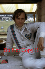 Nanni Galli Martini Tecno F1 Portrait British Grand Prix 1972 Photograph