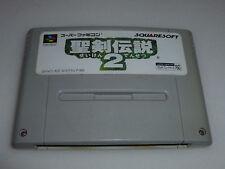 SUPER FAMICOM GAME CARTRIDGE SEIKEN DENSETSU SECRET OF MANA 2 JAPAN SUPER SNES >