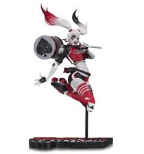 DC Direct Statue Harley Quinn Red Black and white by Babs Tarr