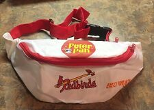 Vintage Louisville Redbirds Peter Pan 99.7 WDJX Promotional Fanny Pack NOS