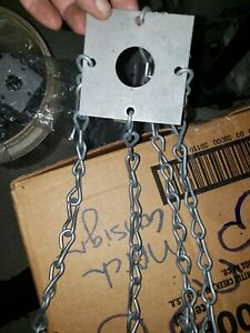 Chain Link Hanging Pendant Light Kit Ceiling Industrial Lamp Holder #A325