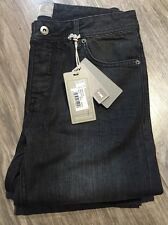 "NEUF JEANS SLIM HOMME MARQUE BENCH SNARE V22 NOIR DELAVE SIZE "" 32-34 "" NEUF 90€"