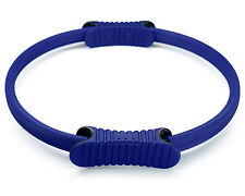 "Duo Grip Pilates Ring Magic Fitness Exercise Workout Circle 14"" Blue - ²SPD2C"