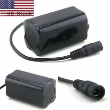 8.4V 6400mAh 18650 Rechargeable Battery Pack for Bike Bicycle Light Headlamp USA