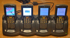 Lot of 4 Motorola Mc3090 Barcode Scanner with Symbol Chs3000-4000C Dock Station