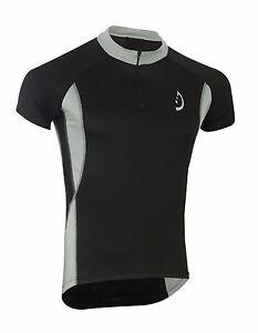 Deckra Mens Cycling Jersey Half Sleeves Breathable Bike Top Racing Cycling Shirt
