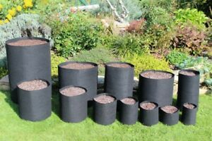 Grow bags  - Round fabric pots pouch  Smart root container Aeration Pot 4-140l