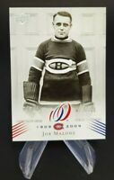 2008-09 UD Montreal Canadiens Centennial Parallel 100 #26 Joe Malone 72/100