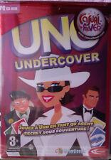 """JEU PC """"UNO - Undercover"""" (Aventure ou Partie Rapide) NEUF SOUS BLISTER"""