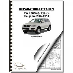 VW Touareg 7L (02-10) 5-Zyl. 2,5l Dieselmotor TDI 163-174 PS Reparaturanleitung