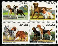 Dogs - Scott #2098-2101 Block of 4  MNH