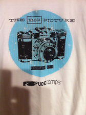 The Big Picture-Old School camera-Fuge Camps-mens Lg. Tshirt