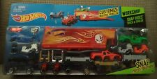 HOT WHEELS WORKSHOP SNAP RIDES TRUCK & TRAILER CUSTOMIZE CDY04 *NEW*