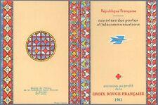 Carnet Croix-Rouge CR2010 - Carnet Croix Rouge  - 1961