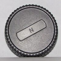 "Used ""N"" Rear Lens Cap for Nikon F Ai Ai-s lenses  B12059"