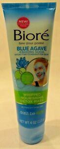 Biore Blue Agave & Baking Soda Detox Mask Oil Free Ph Balanced Hypoallergenic