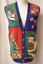 Marisa Christina Classics NWT $70 Christmas Sweater Vest Size M