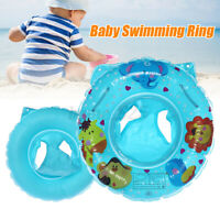 Baby Infant Seat Water Kids Swim Ring Inflatable Safety Float Swimming Pool AU