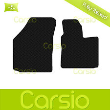 Black Fully Tailored Rubber Car Floor Mat For VW Volkswagen Caddy 2004 Onwards