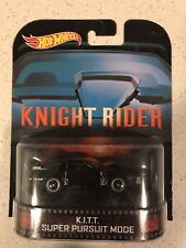 Hot Wheels Retro Entertainment 2013 Knight Rider K.I.T.T Super Pursuit Mode