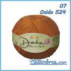 Dalia [100grs]- Omega 100% Mercerized Cotton Yarn   1-SUPER FINE