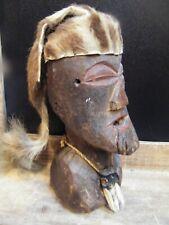 Antique Rapa Nui Moai Figurine Kavakava Wooden Wood Easter Island Chile polynes