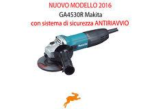 Smerigliatrice angolare 115mm Flex Frullino Makita Ga4530r Mod. antiriavvio