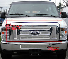 Fits 2008-2013 Ford Econoline Van/E-Series Stainless Steel Mesh Grille Grill