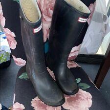 Hunter boots BLACK 7