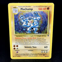 Machamp - Legendary Collection 15/110 - WoTC Holo Rare Pokemon Card 2002