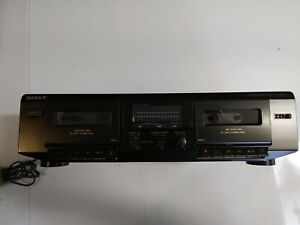 Sony TC-WE305 Stereo Dual Cassette Deck Player Recorder