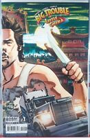 🔥🐉 BIG TROUBLE IN LITTLE CHINA #1 CBLDF VARIANT GABRIEL HARDMAN John Carpenter