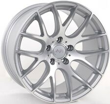 19x9.5 Miro 111 5x112 +40 Machine Silver Wheels (Set of 4)