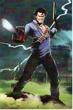 Evil Dead ASH / BRUCE CAMPBELL Print HAND SIGNED by Artist Damon Bowie w COA