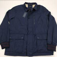 Mens Tommy Hilfiger Tucker Jacket Full Zip Fleece Lined...