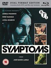 Symptoms- New Blu-Ray / DVD -Angela Pleasance, Peter Vaughan