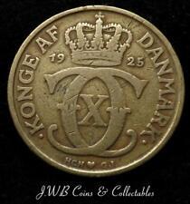 1925 Denmark 2 Kroner Coin